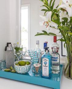 Bandeja para Bar / casa de praia