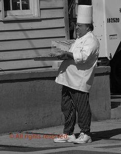 Street chef.