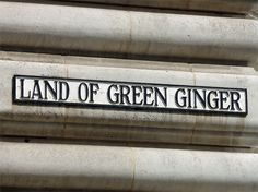 The Land of Green Ginger, in Hull's Old Town, East Yorkshire, England
