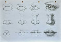 Delineate Your Lips Augen, Mund und Nase zeichnen lernen-dekoking-com - How to draw lips correctly? The first thing to keep in mind is the shape of your lips: if they are thin or thick and if you have the M (or heart) pronounced or barely suggested. Drawing Lessons, Drawing Techniques, Drawing Sketches, Pencil Drawings, Drawing Faces, Mouth Drawing, Nose Drawing, Drawing Ideas, Hand Drawings