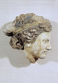 Etruscan. Head of a Woman.