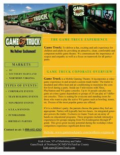 Game Truck of Northern Virginia (serving VA, DC, MD)