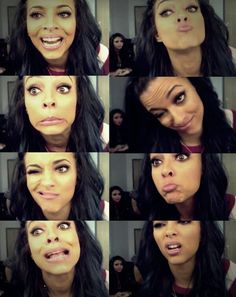 Good night ladies!!!! So tomorrow is my birthday so wake me up with a smile by telling me which of these expressions is your fave!!! Mines the very top one on the left! Love you loads!!Xoxo- Kxoxo