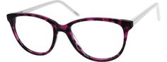 Purple Acetate Full-rim Frame With Spring Hinges 105917