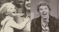 """""""Isn't it wonderful that he still has the same joyful smile that he had as a bubbly and cheerful toddler?"""" <-- repinning for this comment  :-)"""