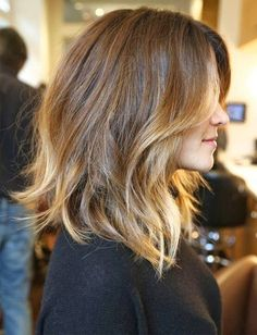 So Beautiful Lob Ombre Hairstyles 2015 - 2016