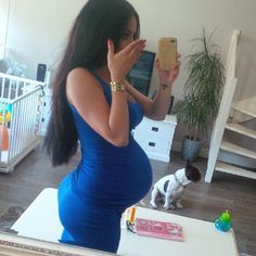 Mommy to be.