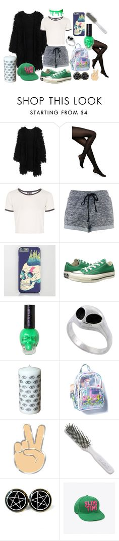 """""""✌"""" by midnightcrew on Polyvore featuring Kate Spade, Topshop, Converse and Kent"""