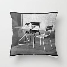 After Tea Throw Pillow by Susan in Paris - $20.00