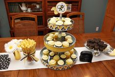 bumble bee party   bumble-bee-party-theme-cake-table.jpg