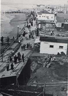 1930's Moonstone Beach by Redondo Beach Pier.