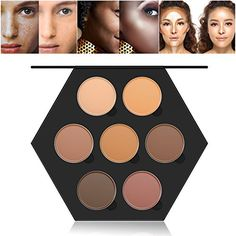 RUIMIO Contour Kit and Highlighting Cream Contour Palette  7 Colors -- Learn more by visiting the image link.