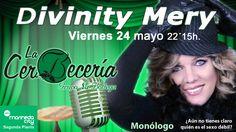 Este viernes, 24 de mayo, monólogo de Divinity Mery en La CerBecería de Marineda City (planta 2)