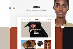 Shila Ecommerce Template by uispot on @creativemarket
