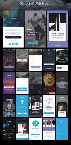 Canvas Ui Kit on Behance