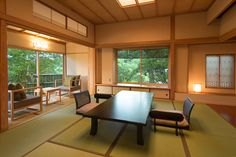 Japanese traditional living room