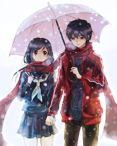 Find images and videos about couple, anime and kawaii on We Heart It - the app to get lost in what you love. Couple Anime Manga, Anime Love Couple, Anime Couples Manga, Cute Anime Couples, I Love Anime, Kawaii Anime, Anime Cupples, Anime Gifs, Art Anime Fille