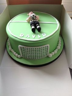 No need for overtime with this fun football cake The First and
