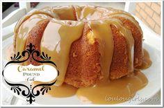Lou  Lou  Girls : Caramel Pound Cake