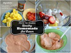 3 ingredient healthy ice cream