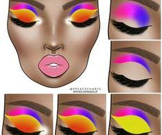 Makeup Eye Looks, Eye Makeup Steps, Makeup Is Life, Cute Makeup, Bridal Makeup Looks, Wedding Makeup, Makeup Face Charts, Eye Makeup Designs, Baddie Makeup