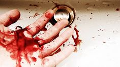 Blood on My Hands by essellessell, via Flickr