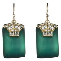 Alexis Bittar Teatro Moderne Gold Rectangle Drop Earrings Off Until December With Code