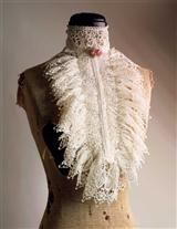 VENETIAN LACE COLLAR (IVORY), Victorian Trading Co.