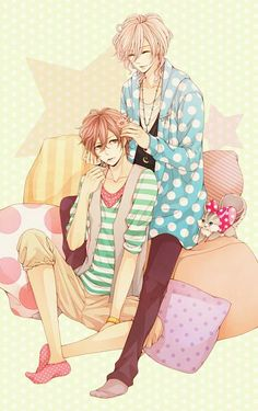 Asahina Futo & Asahina Louis   Brothers Conflict