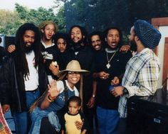 """I won't go through the list it's the same as before only Cedella is in the photo. See """"Marley Gentleman"""" board. Bob Marley Kids, Reggae Bob Marley, Marley Family, Damian Marley, Stephen Marley, Robert Jr, Robert Nesta, Marley Brothers, Bob Marley Pictures"""
