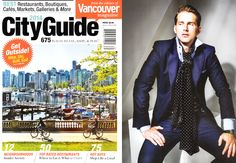 Minimum Aslan Striped Shirt in Vancouver's 2014 City Guide edition. Like A Local, Get Outside, Vancouver, Skiing, The Neighbourhood, The Outsiders, Suit Jacket, City, Jackets