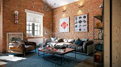 29 Easy Industrial Style Decor Ideas That You Can Create For Your Urban Lifestyle Industrial Wall Decor Design No.