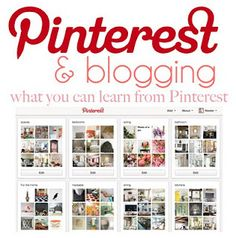 Blogging Tips and Pinterest
