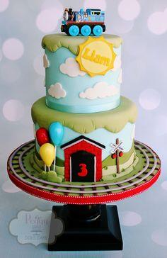 Peggy Does Cake, Brandon, Mississippi ~ Thomas & Friends cake ~ Thomas the Tank Engine cake