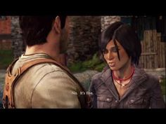 Uncharted 2: Among Thieves ending.    I love this. <3