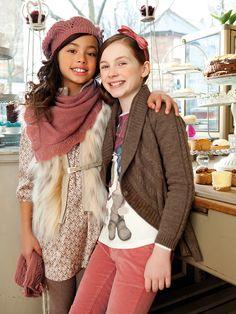 Modernas, divertidas, con mucha confianza... las chicas Mayoral encontraran prendas increíbles durante la temporada otoño Invierno 2013