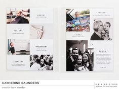 the minimalist projects – paislee press Project Life 6x8, Project Life Scrapbook, Project Life Layouts, Passion Project, Digital Project Life, Photo Album Scrapbooking, Scrapbook Pages, Scrapbooking Layouts, Digital Scrapbooking
