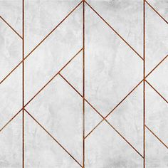 Geometric Concrete by Coordonne - Copper - Mural : Wallpaper Direct Coordonne Geometric Concrete Copper Mural extra image