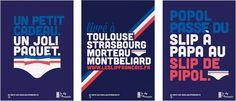 Le Slip Français participe au premier concours d'affichage de publicité aux toilettes