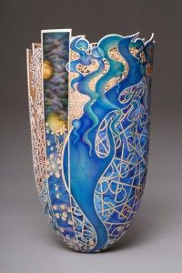Bihn Pho, an internationally renowned artist, writer and teacher who primarily crafts thin-walled wooden vessels