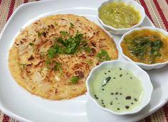 Oats Oothappam | Oats Uttapam | Oats Uthappam - Nutritious Breakfast Recipe using Oats; Indian Breakfast using Oats;