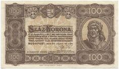 100 Korona 1923 (Matthias Corvinus) Ungarn Königreich