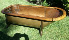 Mid 1800's Copper Bath Tub Free Standing |