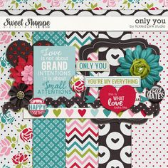 Only You mini kit freebie from Tickled Pink Studio
