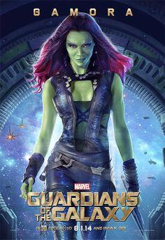 Marvel Studios Guardians Of The Galaxy  Gamora Zoe Saldana.