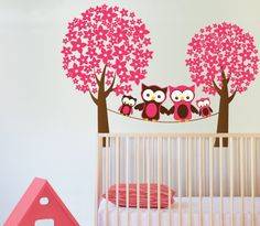 Large sticker tree life size Tree Wall decal | 150 x 190 cm // 59 x 75 inches | | Pinterest | Vinyl wall stickers and Nursery  sc 1 st  Pinterest & Large sticker tree life size Tree Wall decal | 150 x 190 cm // 59 x ...