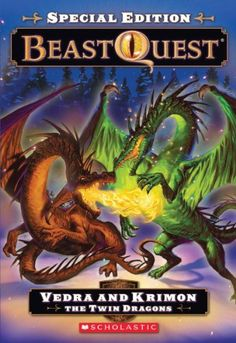 Beast Quest Special Edition #2: Vedra and Krimon the Twin Dragon