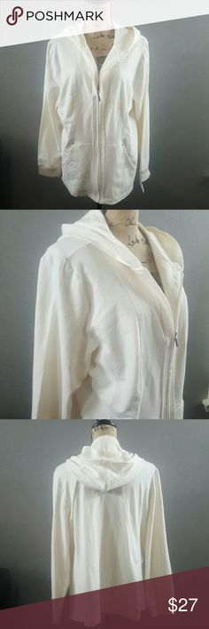 KAREN SCOTT SWEATER HOODIE Simple and comfortable sweater hoodie! Brand new!! Karen Scott Sweaters