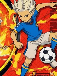 Axel Blaze ;) Inazuma Eleven Go, Awesome Anime, Wallpaper, Goku, Fictional Characters, Football, Drawing, Football Squads, Sport
