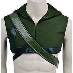 mlyx mens green arrow cosplay costume hood and quiver se http